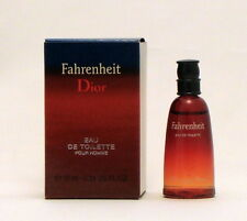 Christian Dior Fahrenheit 0.34 oz 10 ml Mini Eau de Toilette for Men