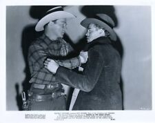 ROY ROGERS KING OF THE COWBOYS & TRIGGER NORTH OF THE GREAT DIVIDE  ORIG X4995