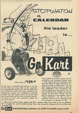 1959 Go Kart brand Go Kart Ad