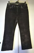 RENÉ LEZARD Jeans Hose *38 *Braun *Samt *Used Look *Five Pocket *TOP-Zustand*