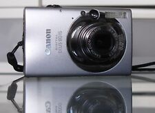 Canon IXUS 80 IS / PowerShot SD1100 8.0MP + 2GB + Etui - Silber