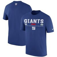 New York Giants Men's Nike Legend Staff DRI-FIT T-Shirt - Size XL - NWT