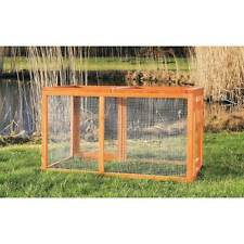 New listing Trixie Outdoor Chicken Run with Mesh Cover Brown