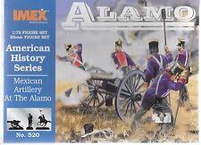 IMEX Mexican Artillery at the Alamo, Figures in 1/72 520 ST