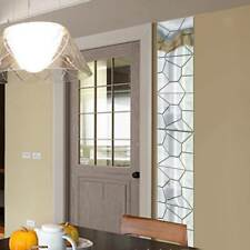 7Pcs Moire Pattern Mirror Removable Decal Art Mural Wall Sticker Deco