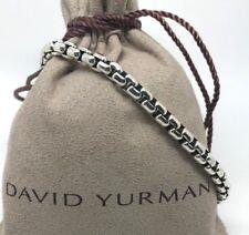 DAVID YURMAN 5mm Box Chain Bracelet in Sterling Silver 2XL