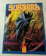 Subterra SIGNED & NUMBERED Chuck Dixon and Other 4 Winds Publishing SAEE02