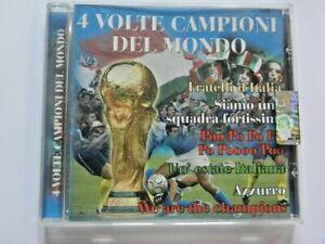 4 VOLTE CAMPIONI DEL MONDO  CD Musica Collezione