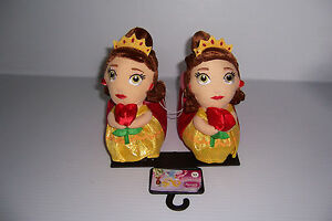 DISNEY PRINCESS BELLE SLIPPERS NON SLIP BOTTOMS TODDLERS SIZES NWT!