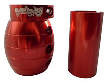RED TEAM DOGZ GRENADE CLAMP ACCESSORY PRO STUNT PUSH SKATE PARK SCOOTER