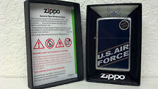 ZIPPO, LIGHTER, US AIR FORCE, BRUSHED CHROME MODEL# 24827
