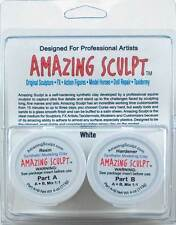 AMAZING SCULPT - White 1/4 lb, Doll Repair, Molds, Resin Casting, Sculpting Clay