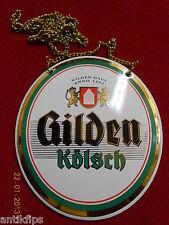 Gilden Kölsch Zapfhahnschild P439