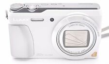 Panasonic Lumix DMC-ZS35 DMC-TZ55 16.1mp 20x Fotocamera Digitale Bianco