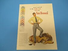 1948 Assert yourself in the bolder look, shirts by Van Heusen,Print Ad  PA007