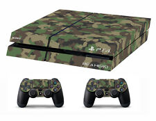 PS4 vinyl Skin Stickers Camouflage for Console & 2 controllers