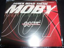 Moby James Bond Theme (Moby Re - version) UK Remixes CD Single – Like New