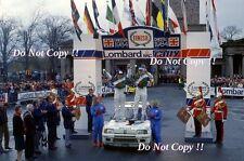Ari Vatanen Peugeot 205 Turbo 16 Winner RAC Rally 1984 Photograph 5