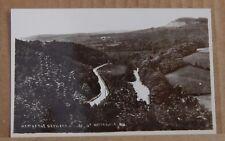 Postcard Derwent Valley Near Hathersage Derbyshire  Real Photo unposted