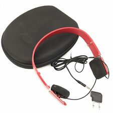 Bang And Olufsen Form Headphones Red RARE - Fast Free Shipping - H11