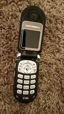 Motorola V180 Flip Phone silver