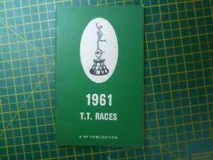 1961 Isle Of Man TT Races Programme & Guide IOM Mike Hailwood MV Agusta Honda