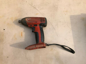 Hilti SIW 144-A cordless impact wrench ( Faulty)