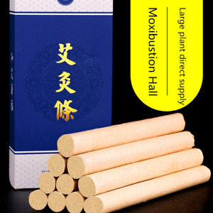 1:5 Smoke Moxibustion Moxa Rolls Moxa Stick Treatment 3 Years 艾绒 Body Warm