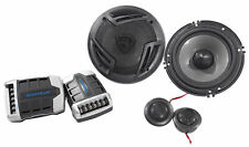 """Pair Rockville Rv65.2C 6.5"""" Component Car Speakers 750 Watts/140w Rms Cea Rated"""