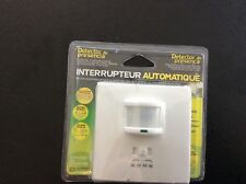Interrupteur automatique détecteur de présence (jamais utilisé)