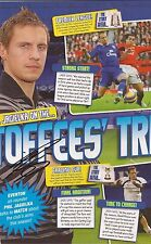 EVERTON: PHIL JAGIELKA SIGNED A4 (12x8) MAGAZINE PICTURE+COA