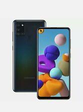 New Samsung Galaxy A21s Dual Sim 2020 4G LTE 32GB Smartphone Black