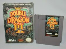 Double Dragon III: The Sacred Stones NES with Box Tested AUTHENTIC!