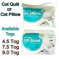 Nursery Baby Junior Toddler Anti Allergy Cot Bed,Cot Duvet Quilt And Pillow**New