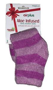 Airplus Aloe Vitamin E Infused Women's Ultra Comfort Socks Size 5-11