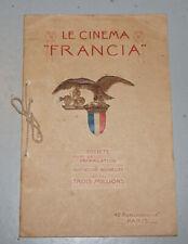 Catalogue Projecteur cinema muet FRANCIA Solus Bancarel