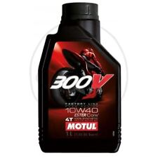 HUILE 10W40 4T 1L MOTUL 300V SYNTHÉTIQUE ROAD RACING 104118 714.00.65