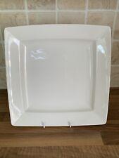 "Churchill Alchemy Square Dinner Plate in White 28cm 11"""