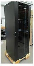 """42U 800 x 800 19"""" Floor-Standing Rack and Cabinet - Black"""