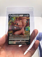 Pokemon Greedent V 053/072 Holo Ultra Rare Shining Fates