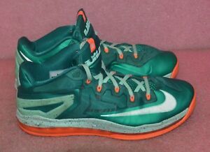 Nike Lebron XI 11 Low Mystic 642849-313 Men's Basketball Shoes Size 11.
