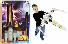 New HUGE Star Wars X-WING STARFIGHTER Hero Series ELECTRONIC - OVER 2 FEET LONG