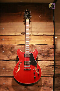 Ibanez Artcore AS73,Transparent Cherry Red, Semi-Hollow Body Electric Guitar