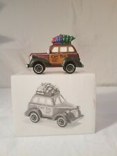"""Dept 56 Heritage Village Collection City Taxi. Condition is """"Used"""""""