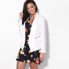 Cappotti e giacche da donna bianchi formale taglia 46