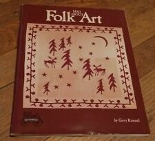 MAD ABOUT FOLK ART Book - GERRY KIMMEL - 18 Quilt & More Projects (Templates)