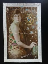 Actress GLADYS COOPER c1915 RP Postcard by Rotary B 90-1