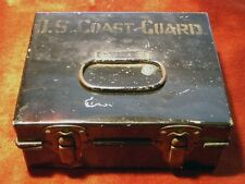 Early and Very Rare United States Coast Guard First Aid Tin