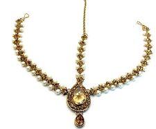 Gold Chain Costume Hair & Head Jewellery