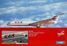 Herpa Wings1:500 Ilyushin IL-62M CSA Czechoslovak OK-JBI 527194 Modellairport500